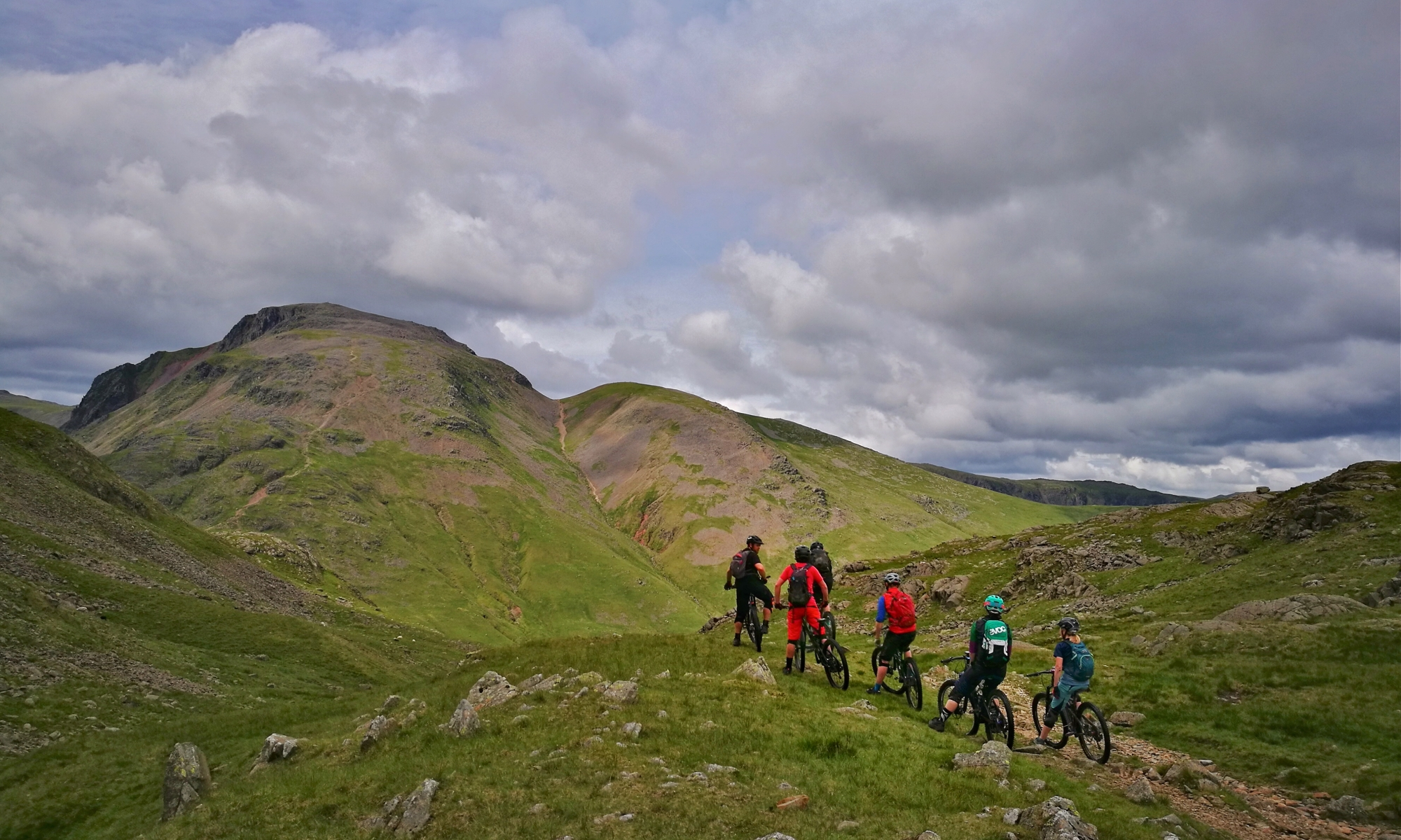 Mountain bike guiding, The Lake District