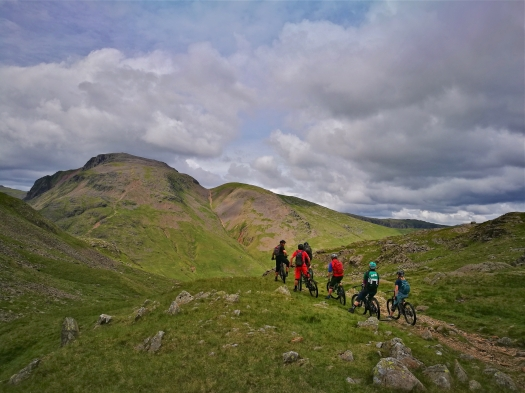 Mountain bike guiding, The Lake District