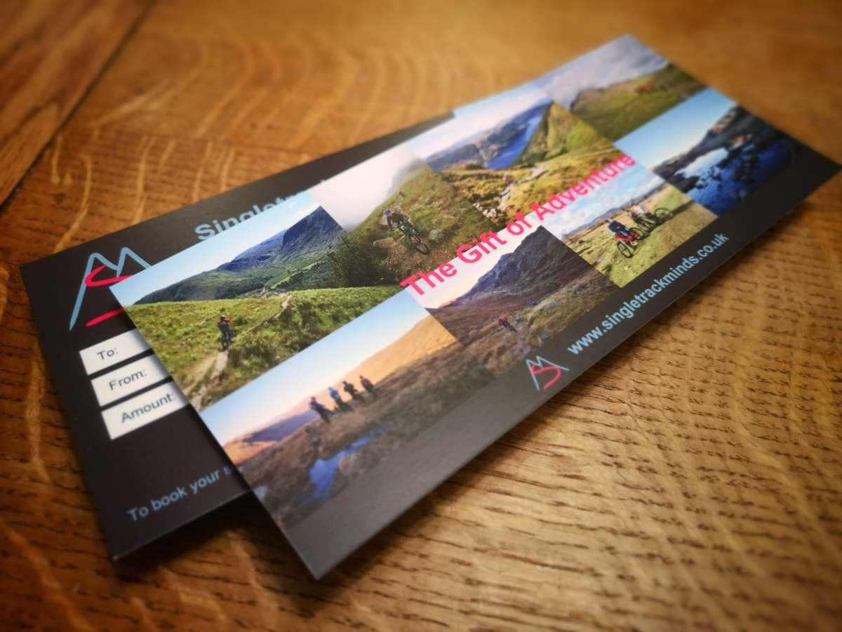 Singletrack Minds gift voucher